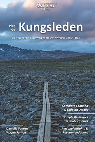 Wandelgids Plan & Go Kungsleden | Sandiburg Press