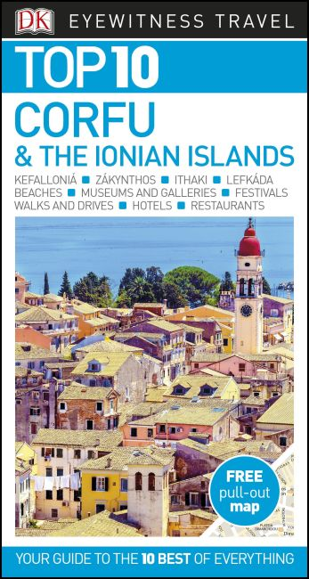Reisgids Eyewitness Top 10 Corfu and the Ionian Islands | Dorling Kindersley