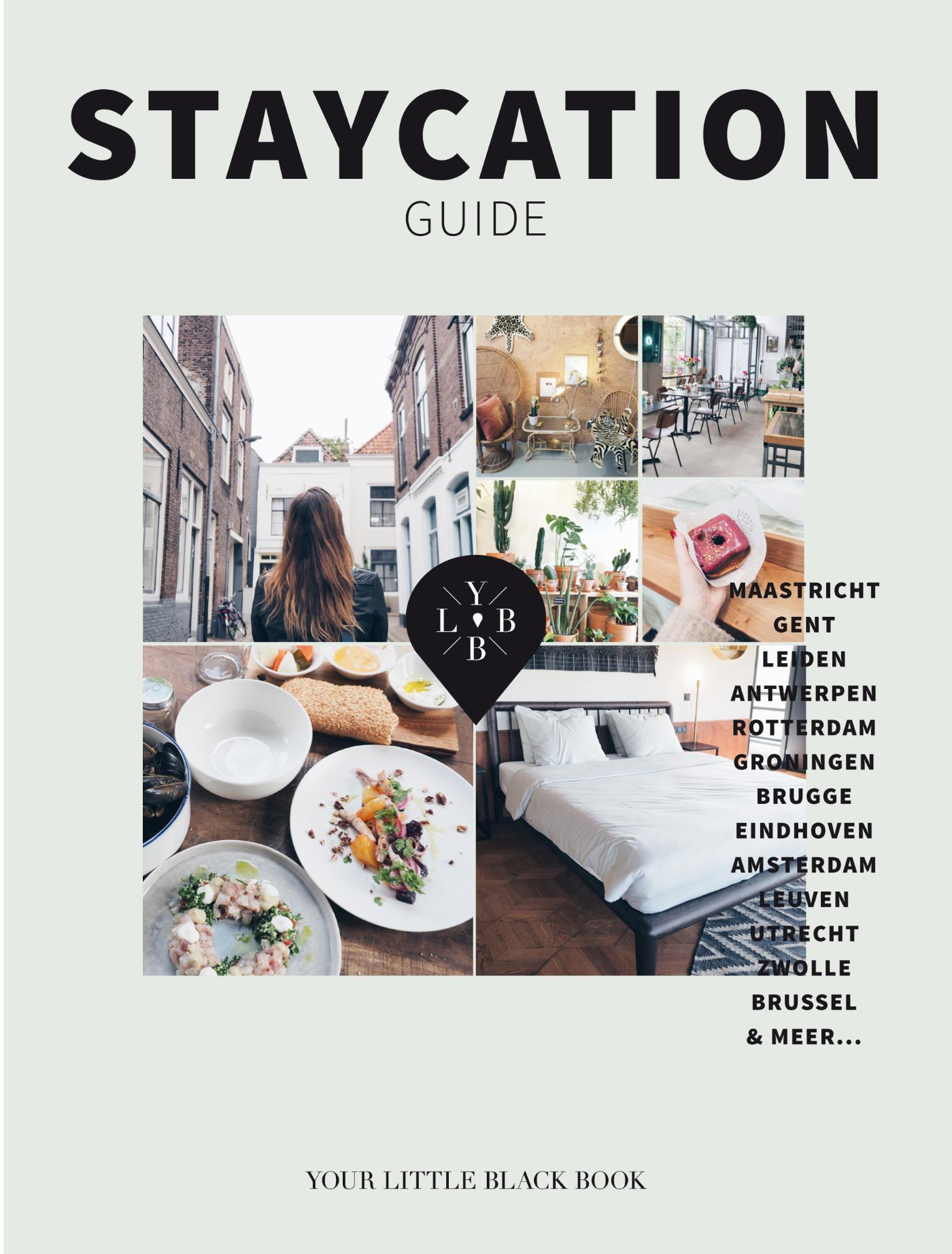Reisgids Staycation Guide | Your Little Black Book