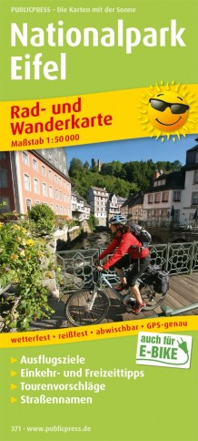 Wandelkaart Nationalpark Eifel | Publicpress