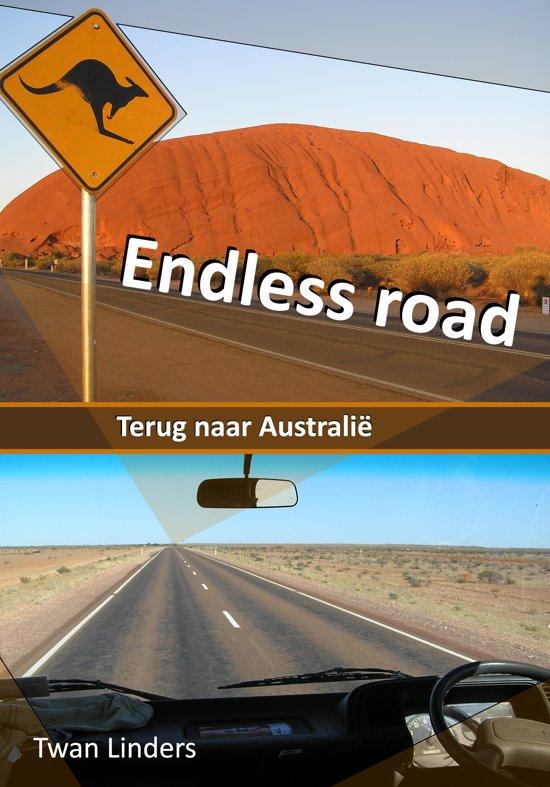 Reisverhaal Endless Road - terug naar Australië | Twan Linders <br/>€ 17.95 <br/> <a href='https://www.dezwerver.nl/reisgidsen/?tt=1554_252853_241358_&r=https%3A%2F%2Fwww.dezwerver.nl%2Fr%2Foceanie%2Faustralie%2Fc%2Fboeken%2Freisverhalen%2F9789081804356%2Freisverhaal-endless-road-terug-naar-australie-twan-linders%2F' target='_blank'>Meer Info</a>