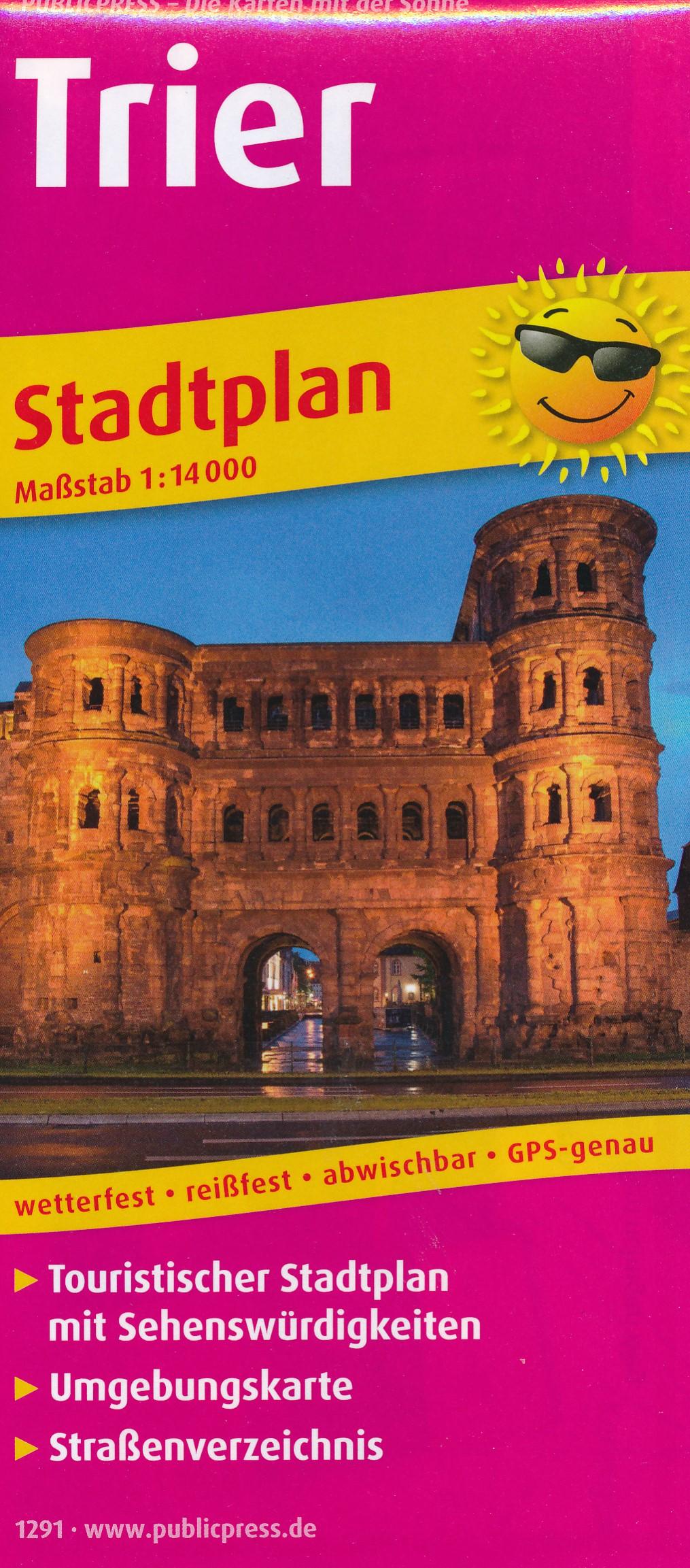 Stadsplattegrond Trier | Publicpress