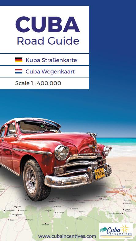 Wegenatlas Cuba Road Guide | Cuba Incentives