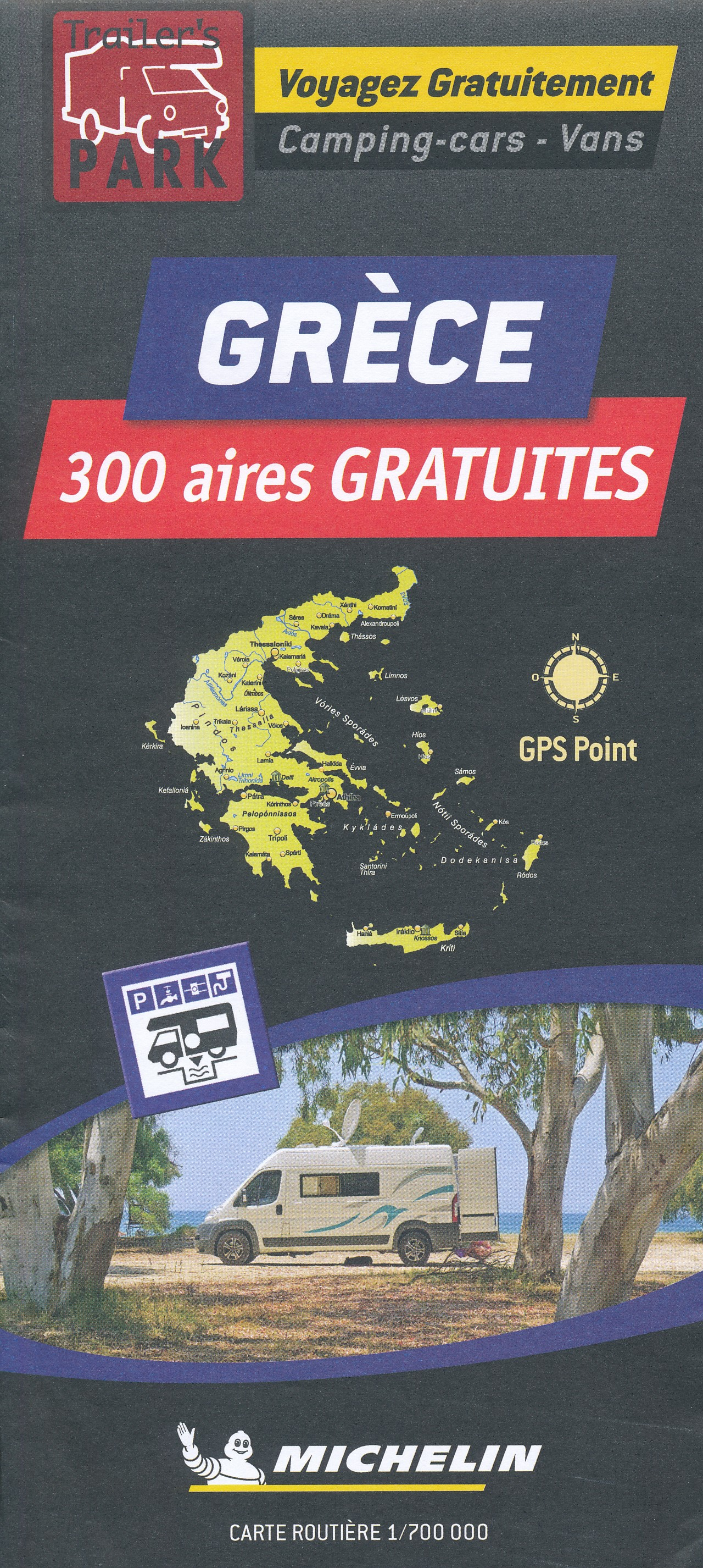 Camperkaart - Wegenkaart - landkaart Griekenland | Michelin