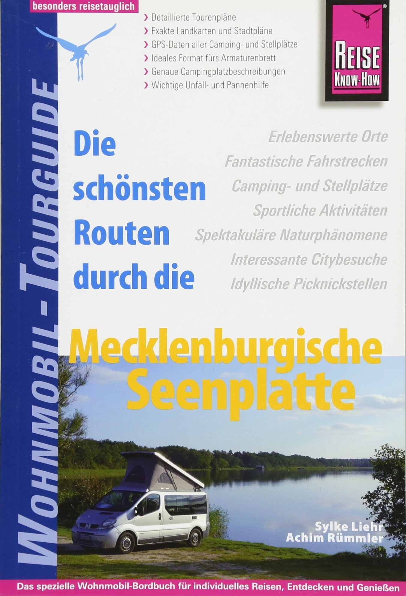 Opruiming - Campergids Wohnmobil-Tourguide Mecklenburgische Seenplatte | Reise Know-How Verlag