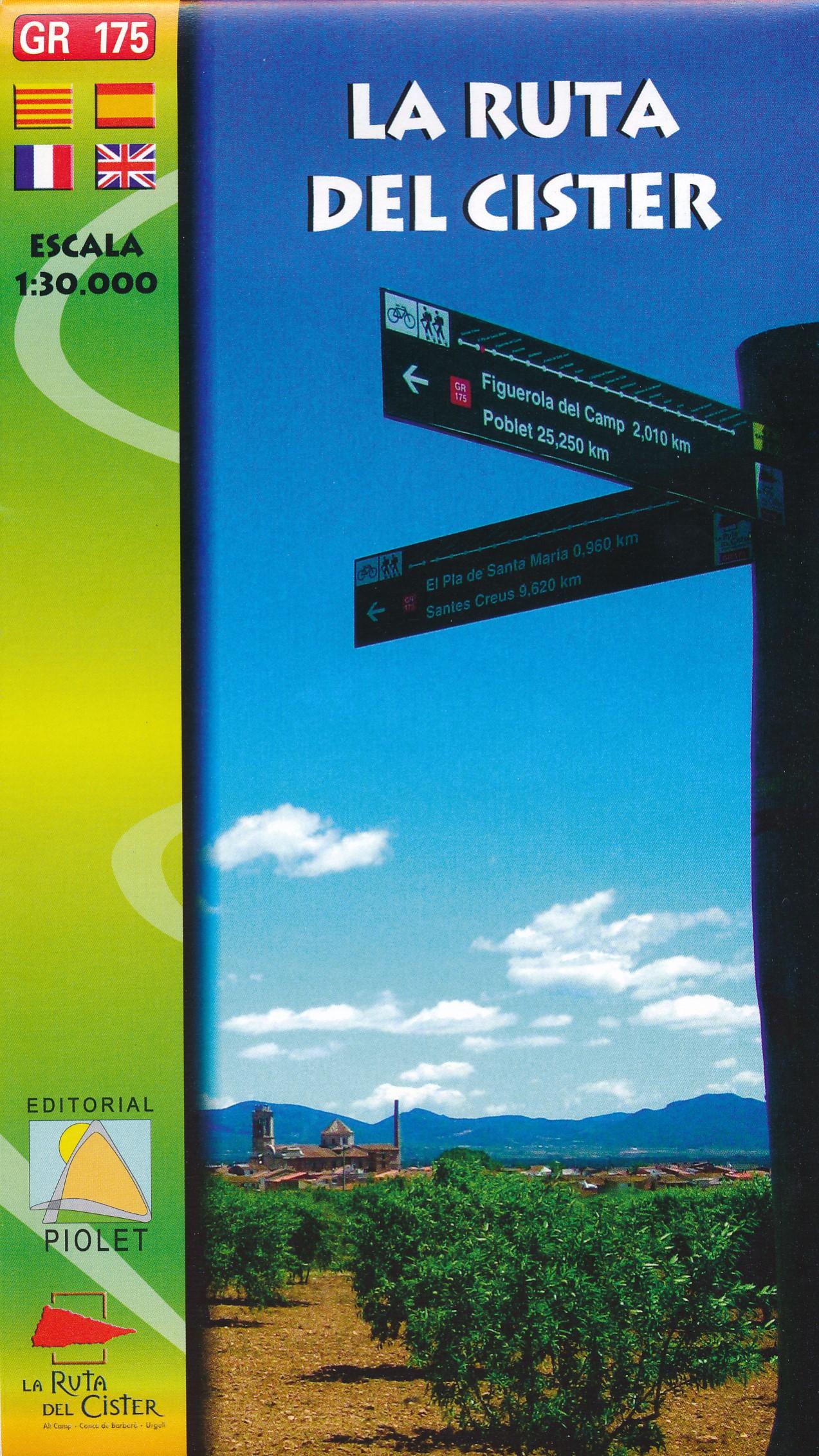 Wandelkaart La Ruta del Cister | Editorial Piolet
