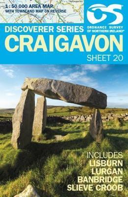 Wandelkaart 20 Discoverer Craigavon | Ordnance Survey Northern Ireland