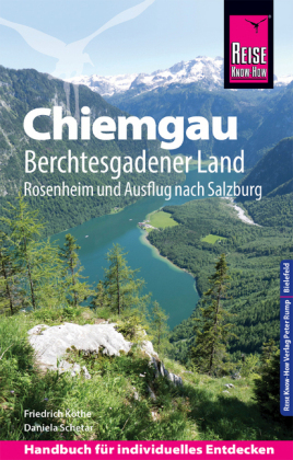Reisgids Chiemgau, Berchtesgadener Land | Reise Know-How Verlag