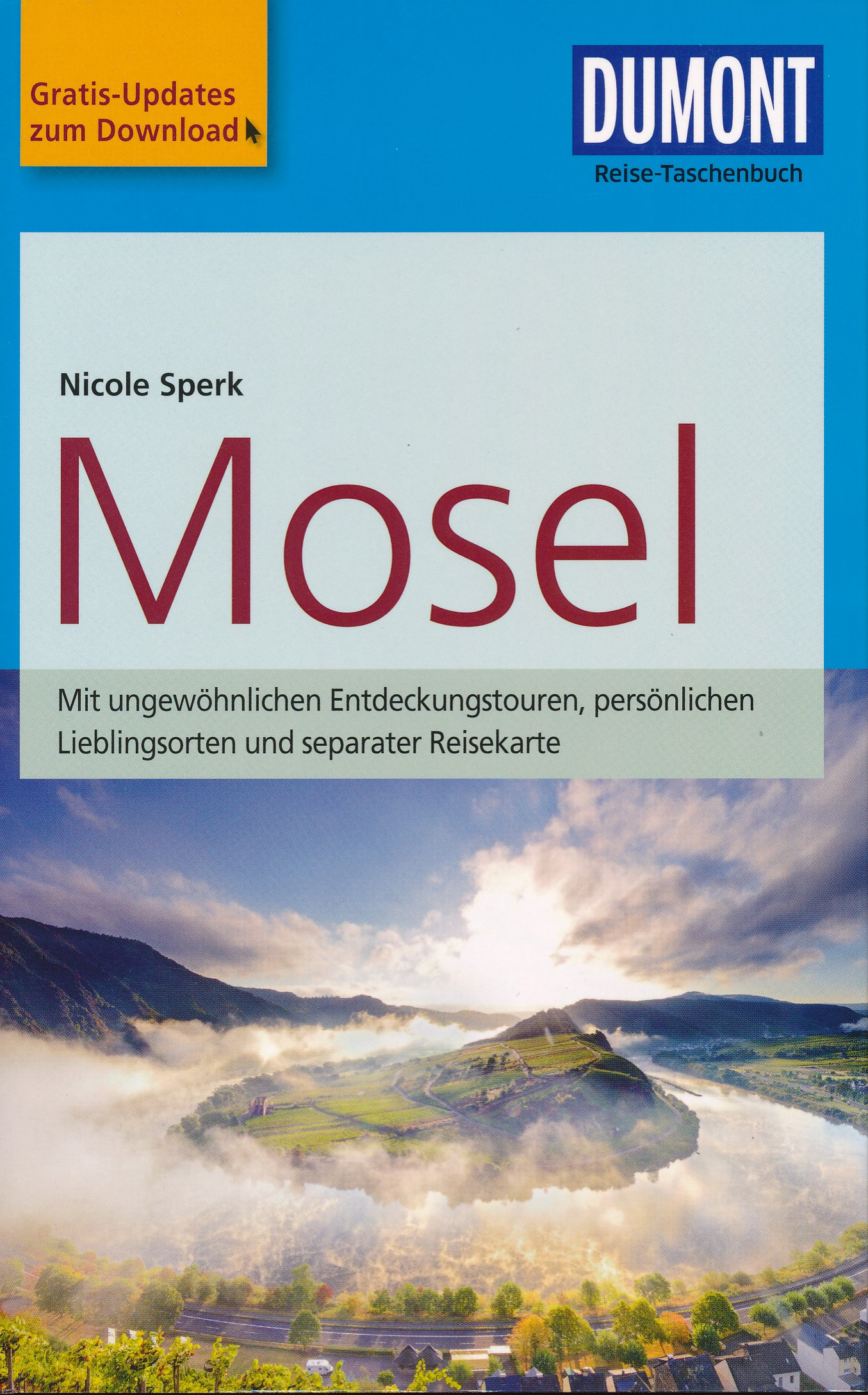 Reisgids Reise-Taschenbuch Mosel - Moezel | Dumont