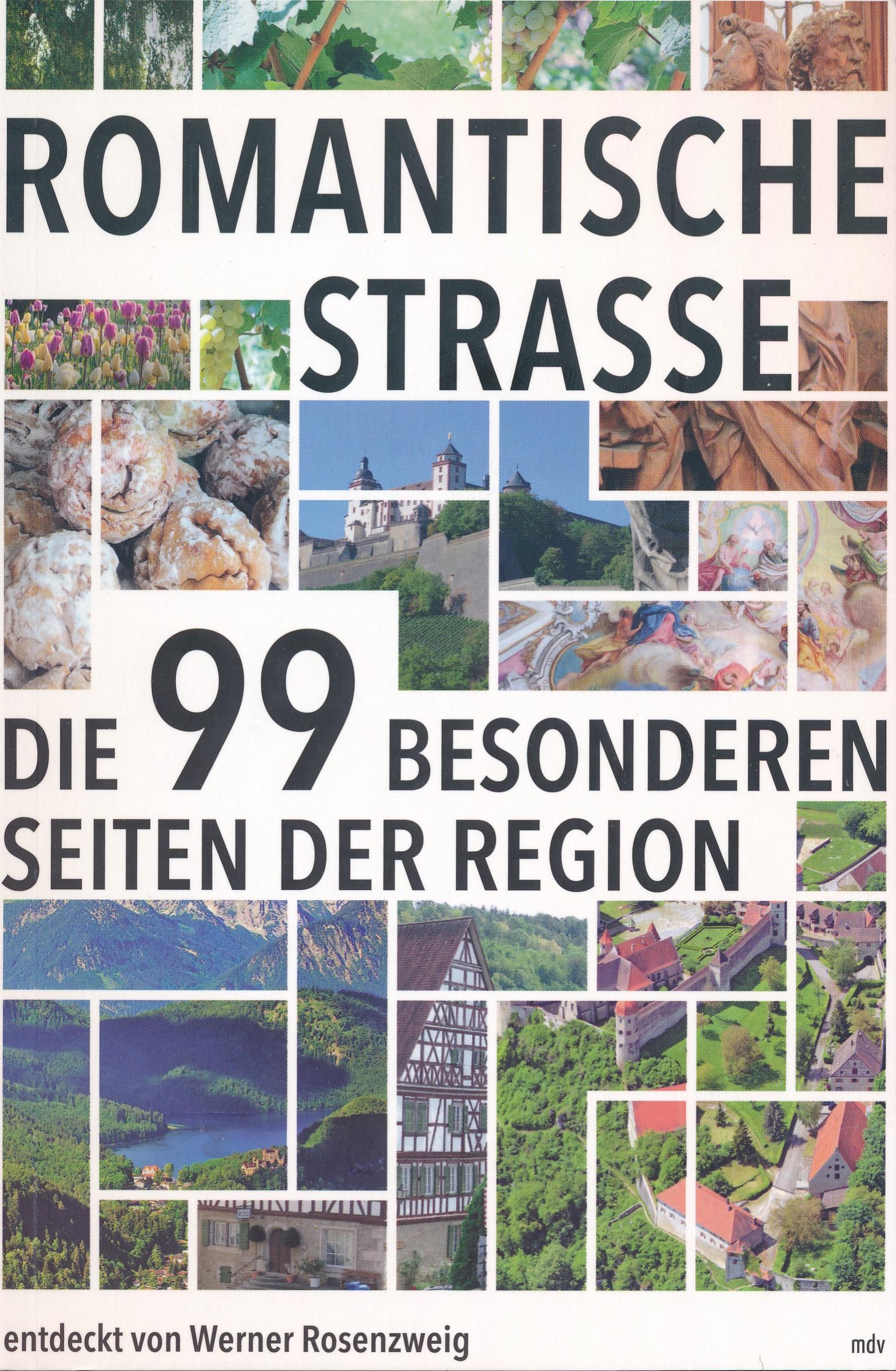 Reisgids Romantische Strasse | Mitteldeutscher Verlag