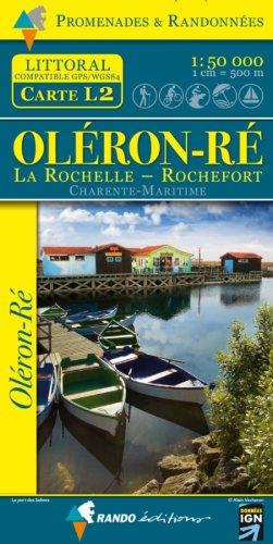 Wandelkaart L2 Oleron - Re - La Rochelle - Rochefort | IGN