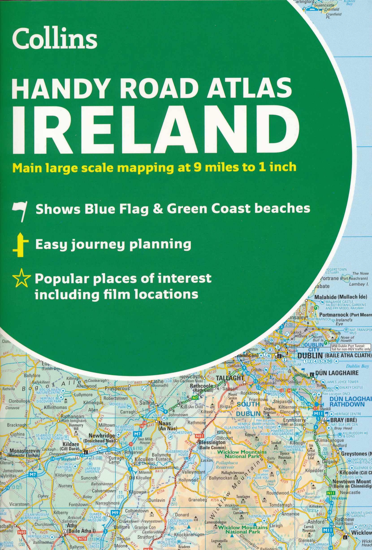 Wegenatlas Handy Road Atlas Ireland - Ierland | Collins