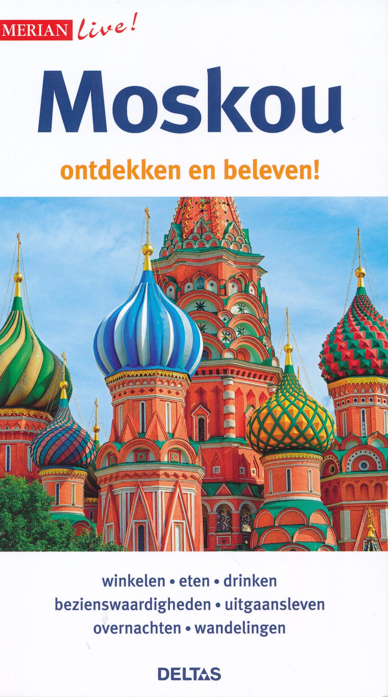 Reisgids Merian live Moskou   Deltas de zwerver