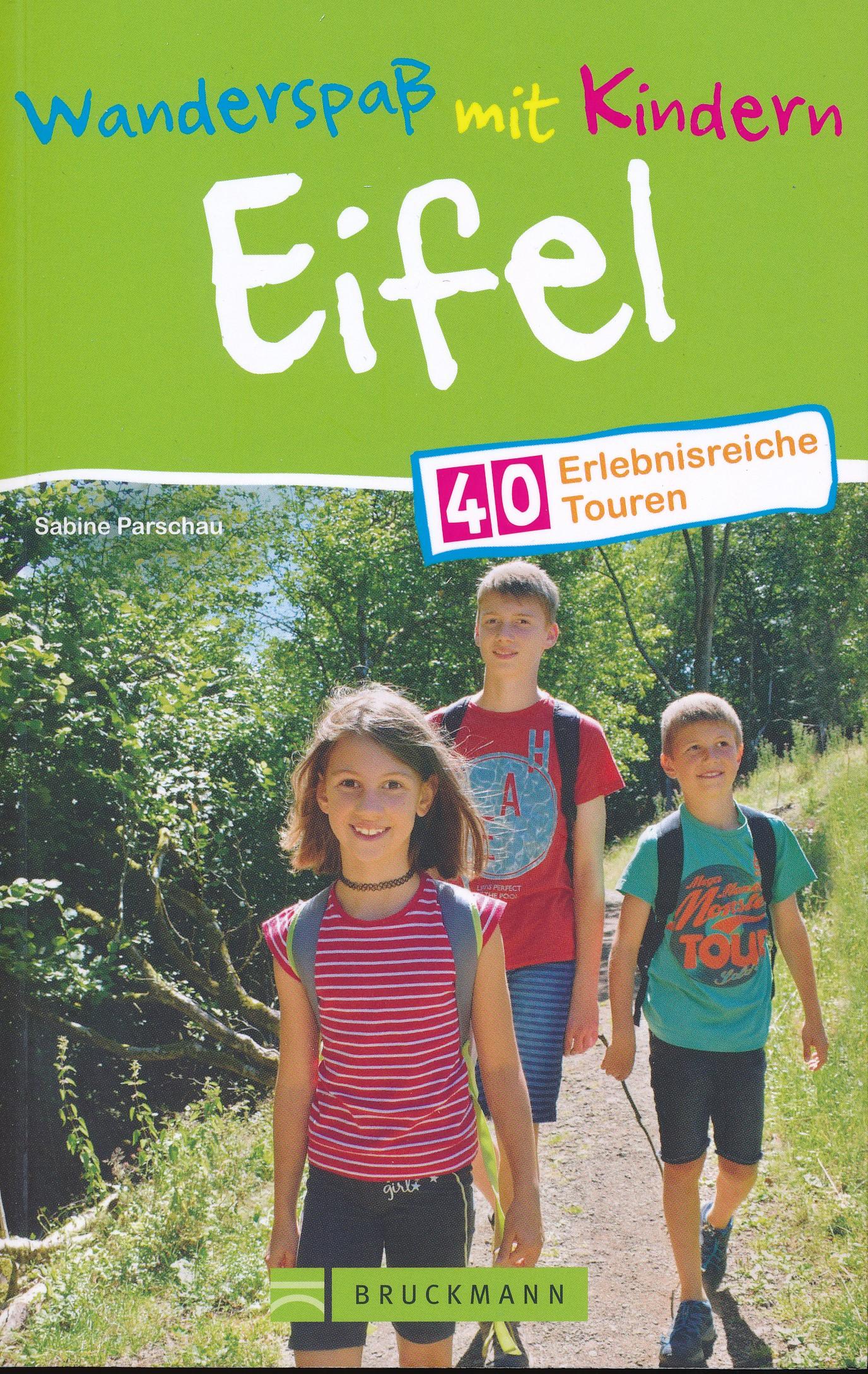 Wandelgids Wanderspass mit Kindern Eifel | Bruckmann
