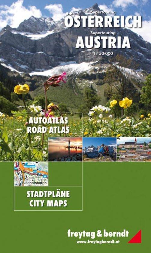 Opruiming - Wegenatlas Supertouring Oostenrijk - Österreich | Freytag & Berndt