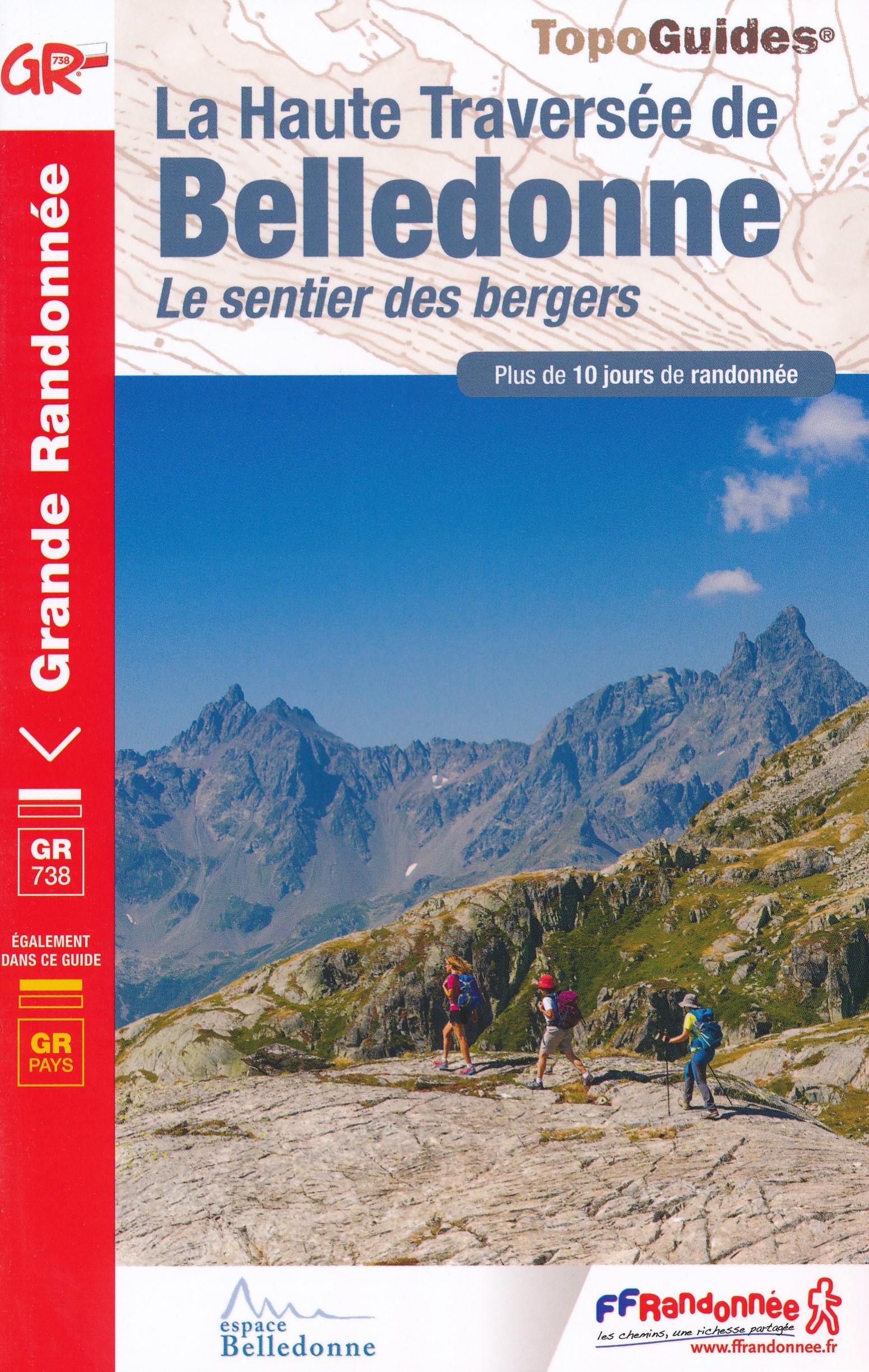 Wandelgids 738 La Haute Traversée de Belledonne - Le sentier des bergers | FFRP