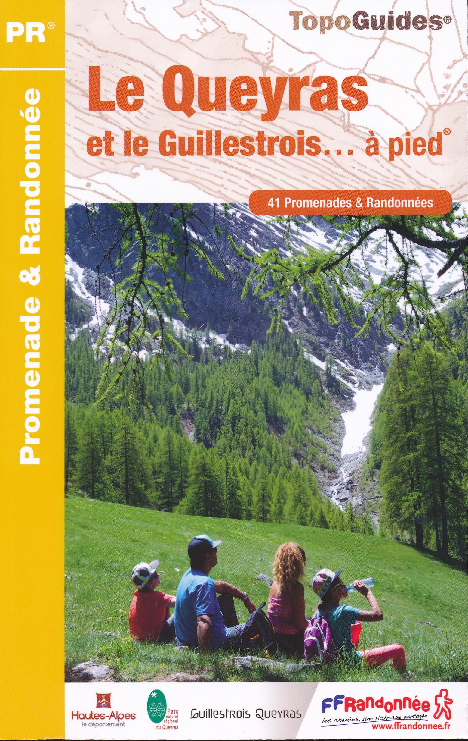 Wandelgids P056 Le Queyras et le Guillestrois... à pied | FFRP