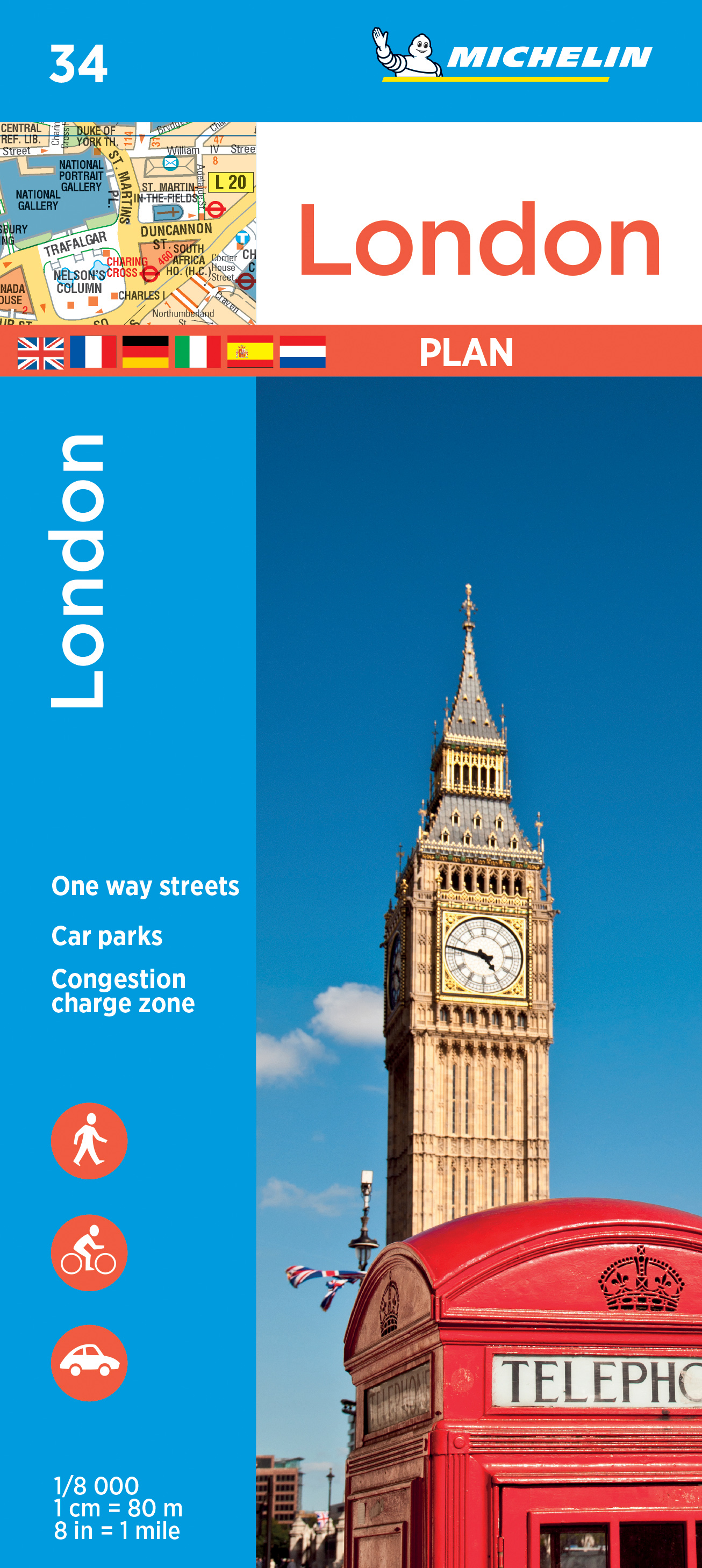 Stadsplattegrond 34 London - Londen | Michelin