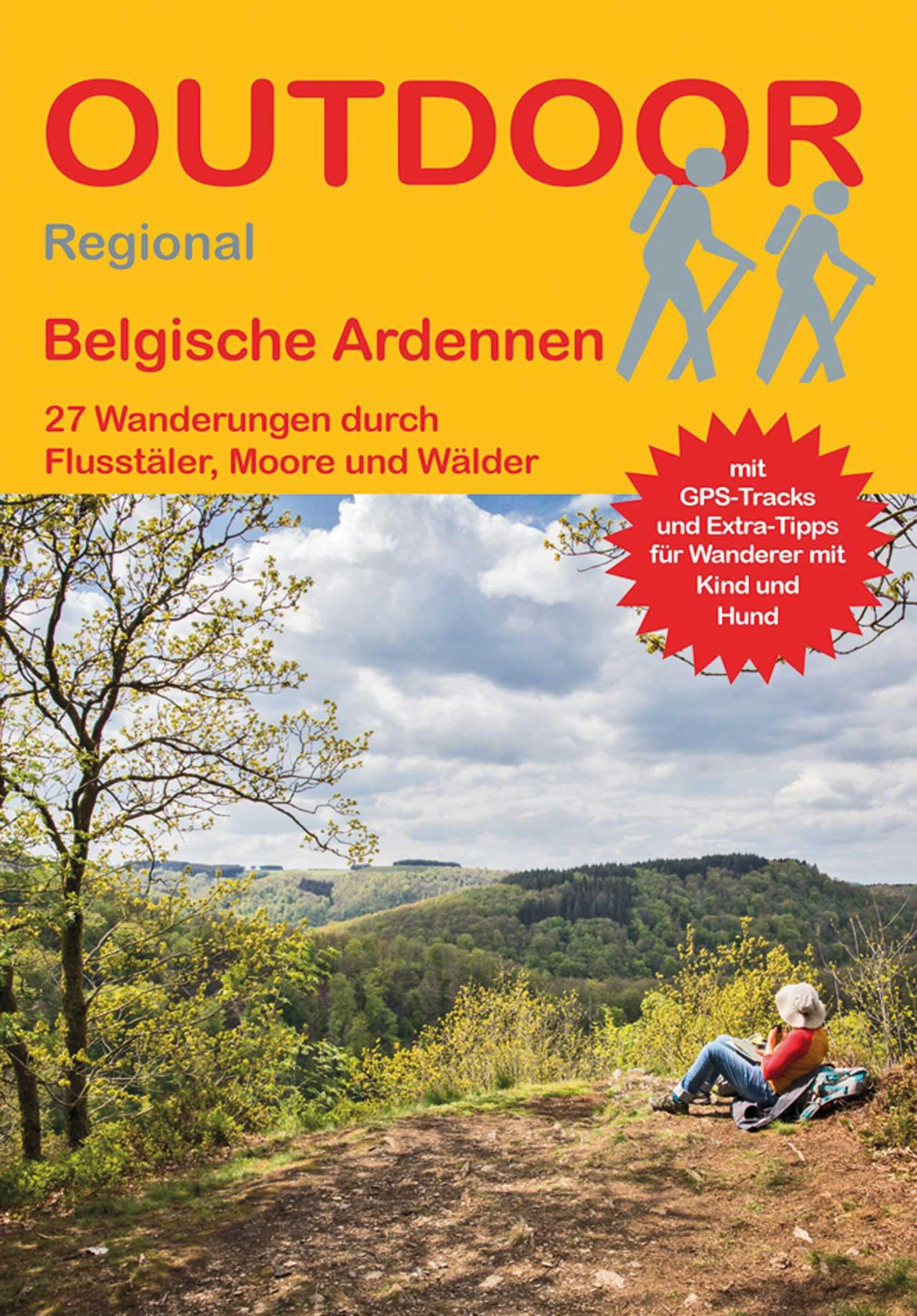Wandelgids Belgische Ardennen   Conrad Stein Verlag de zwerver