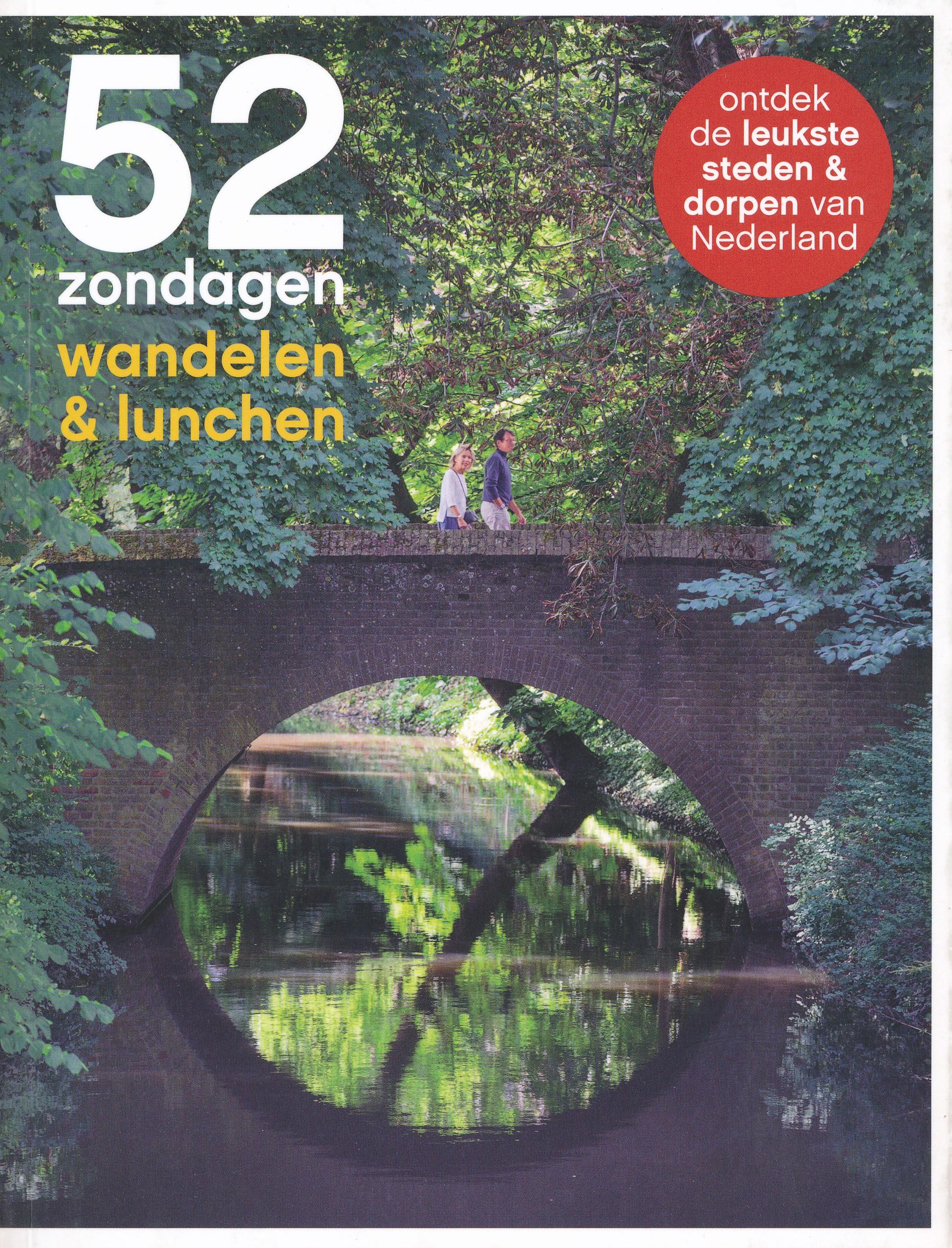 Reisgids 52 Zondagen wandelen & lunchen | Mo'Media de zwerver