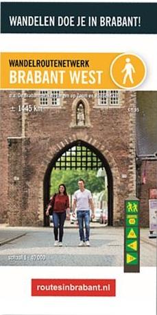 Wandelkaart 1 Wandelroutenetwerk Brabant West | Visit Brabant de zwerver