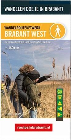 Wandelkaart 2 Wandelroutenetwerk Brabant West | Visit Brabant de zwerver