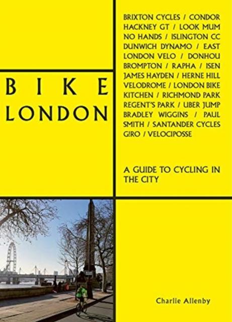 Fietsgids Bike London   Accartbooks de zwerver