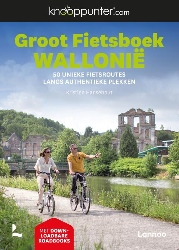 Fietsgids Groot Fietsboek Wallonië | Lannoo de zwerver