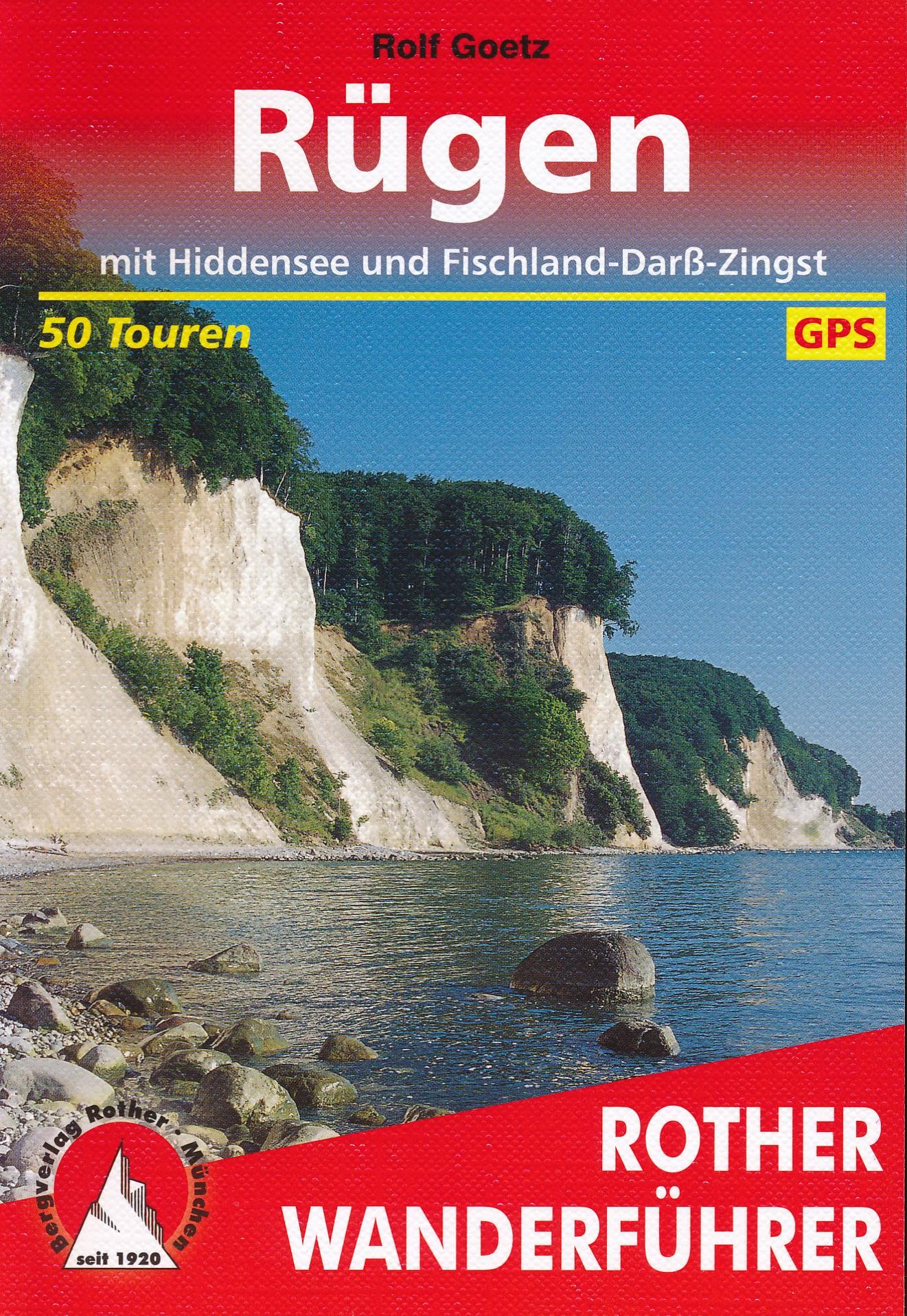 Opruiming - Wandelgids Rügen   Rother Bergverlag de zwerver