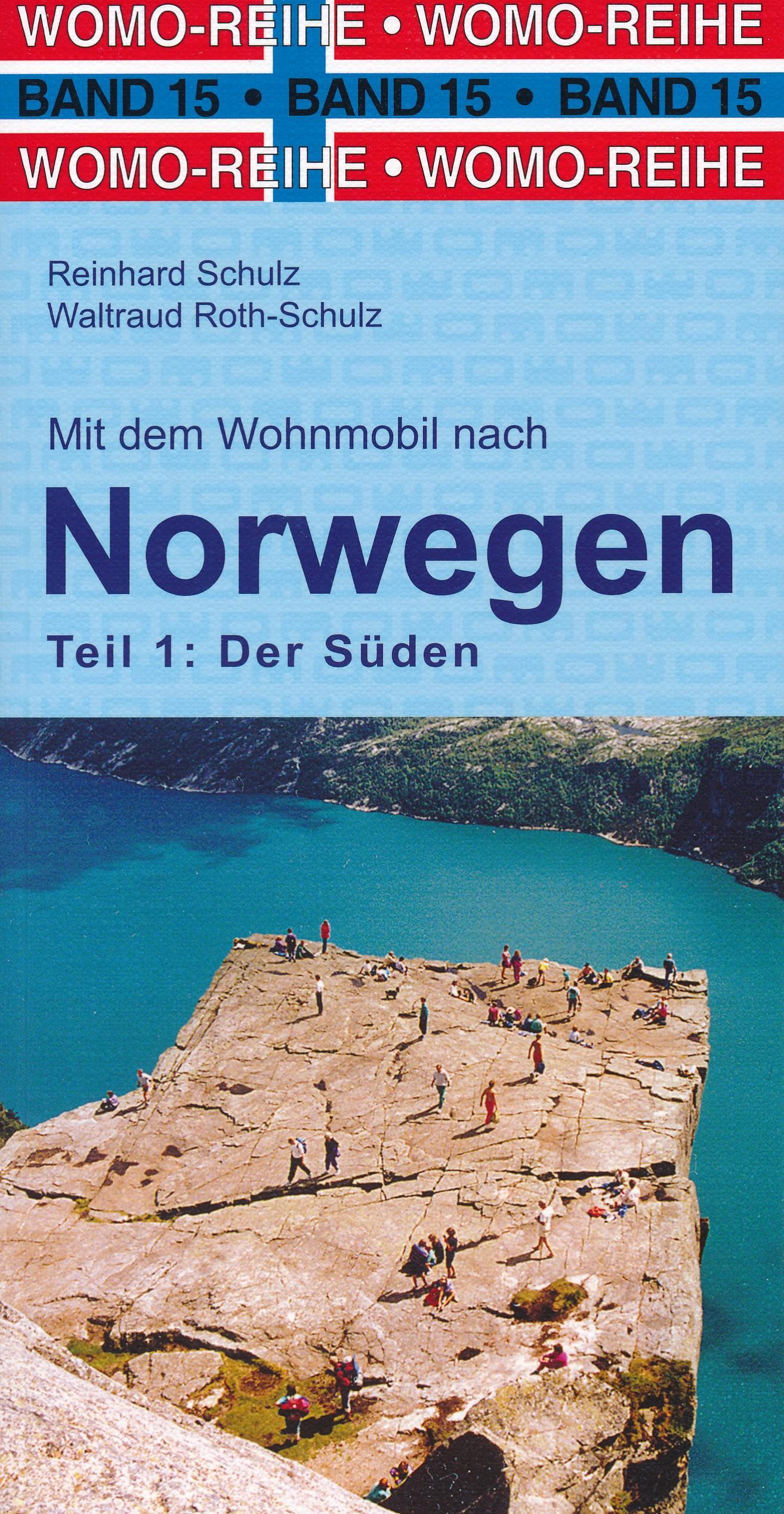 Opruiming - Campergids Mit dem Wohnmobil nach Süd-Norwegen - zuid Noorwegen   WOMO verlag de zwerver