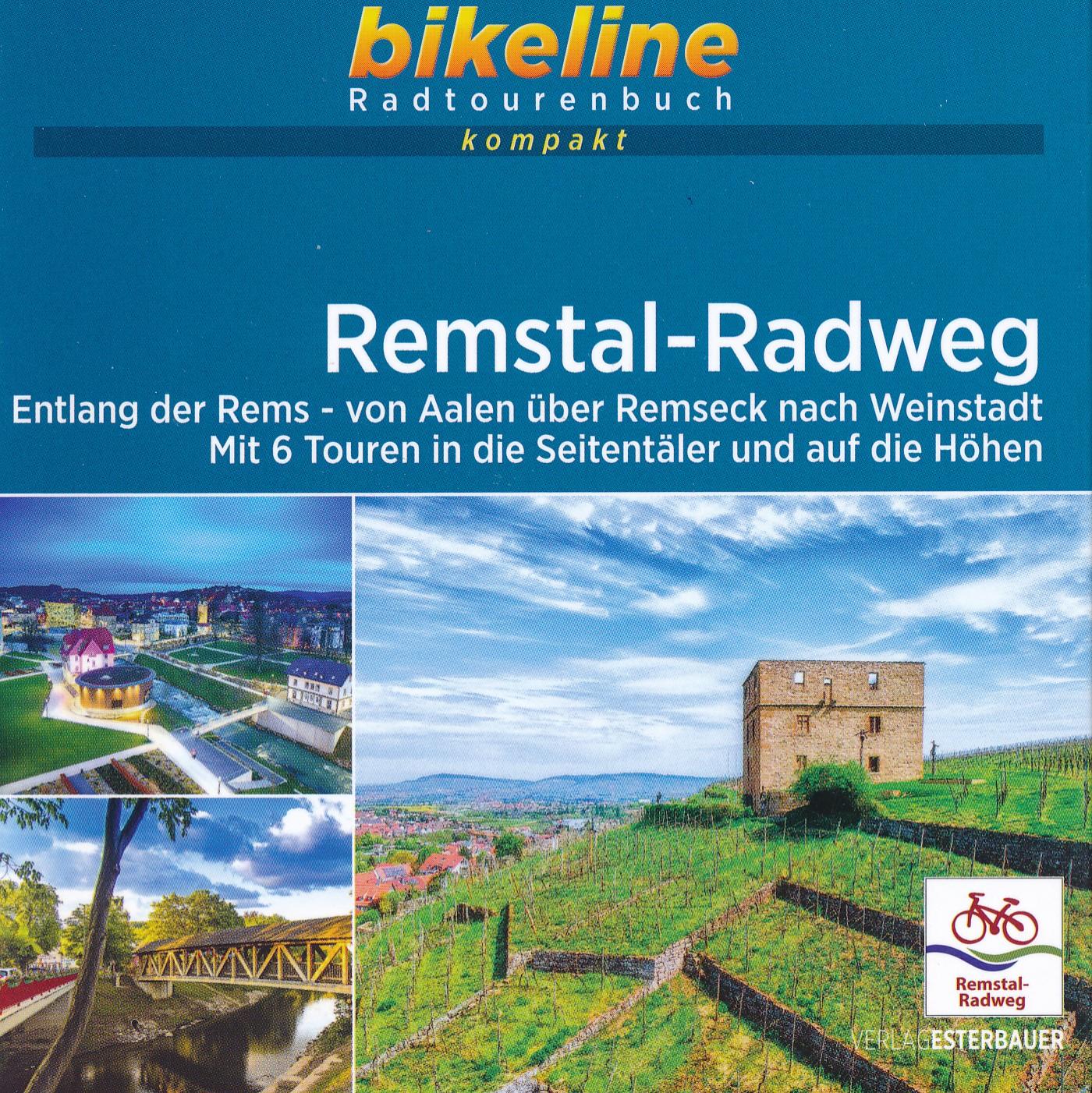 Fietsgids Bikeline Radtourenbuch kompakt Remstal-Radweg | Esterbauer de zwerver