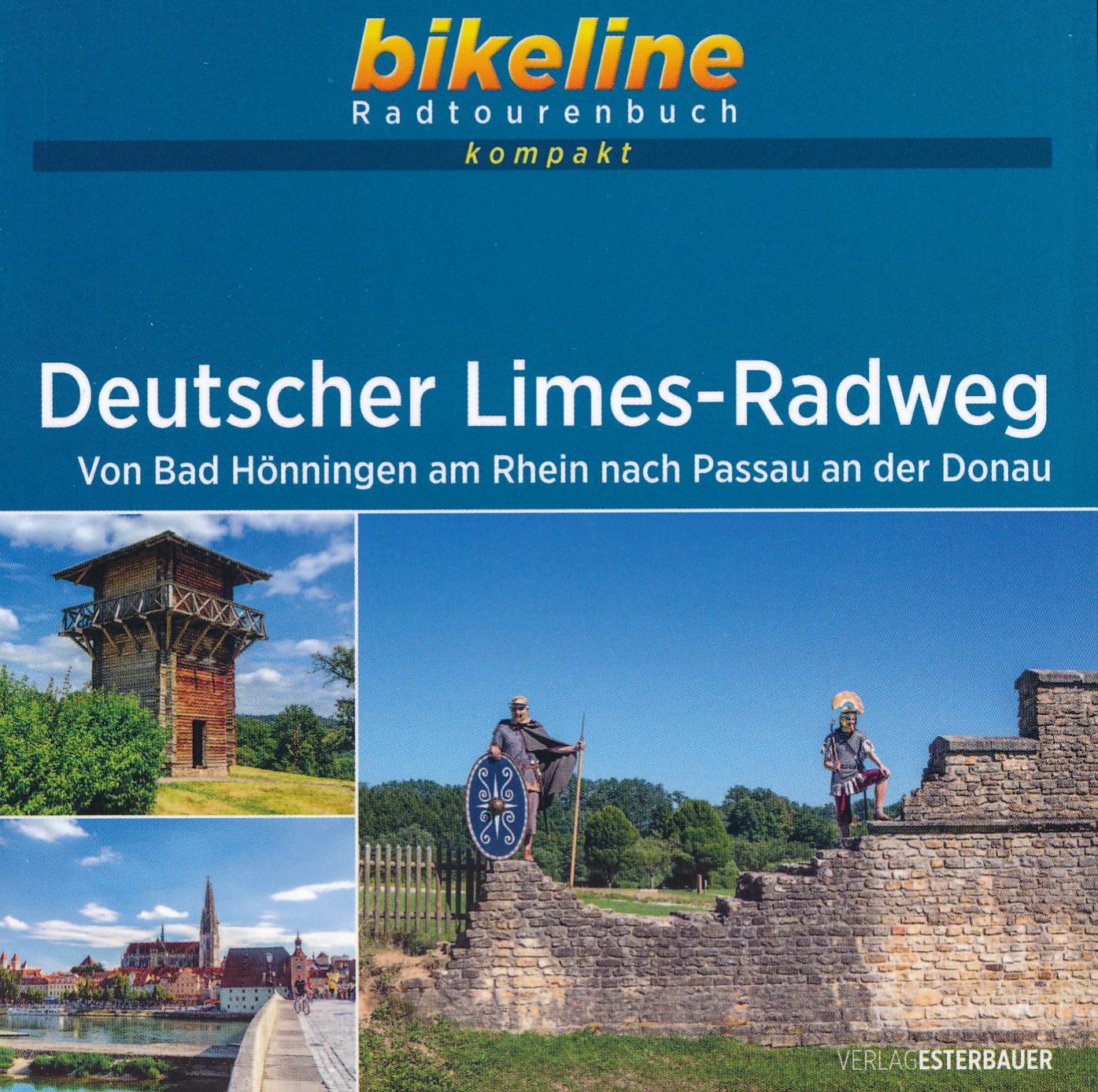 Fietsgids Bikeline Radtourenbuch kompakt Deutscher LimesRadweg | Esterbauer de zwerver