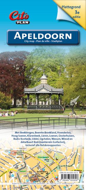 Stadsplattegrond Citoplan Apeldoorn | Buijten & Schipperheijn de zwerver