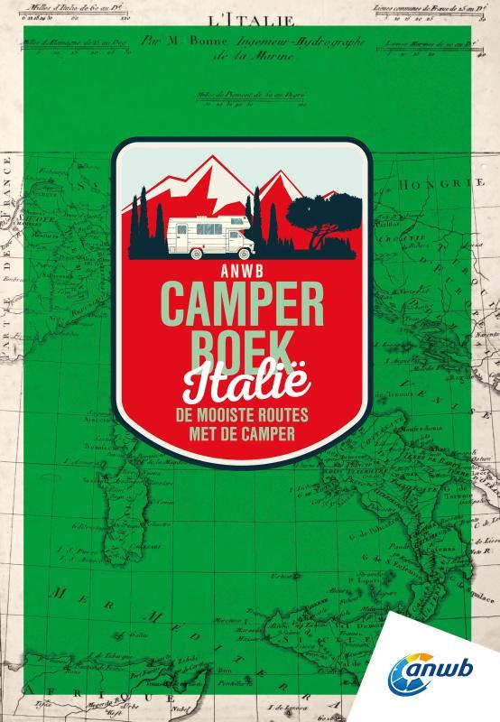 Campergids ANWB Camperboek Italië | ANWB Media de zwerver