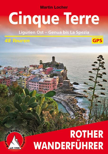 Wandelgids 295 Cinque Terre - Ligurie Ost - Genua bis La Spezia | Rother de zwerver