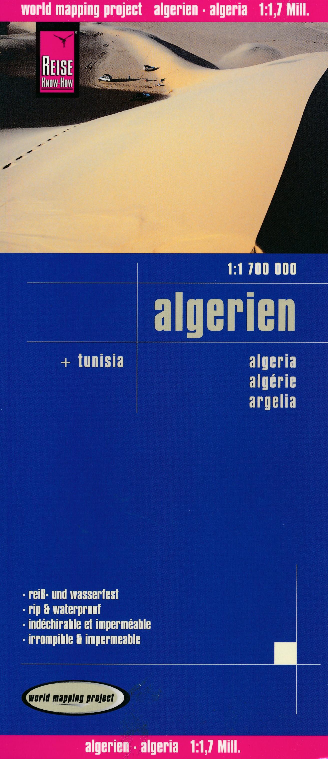 Online bestellen: Wegenkaart - landkaart Algerien - Algerije   Reise Know-How Verlag
