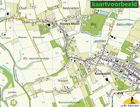 Topografische Kaart Wandelkaart 11d Heerenveen Kadaster
