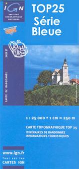 Wandelkaart - Topografische kaart 4348OT Bastia | IGN