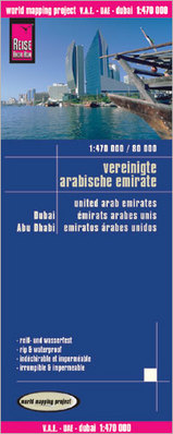 Online bestellen: Wegenkaart - landkaart Verenigde Arabische Emiraten, Dubai, Abu Dhabi | Reise Know-How Verlag