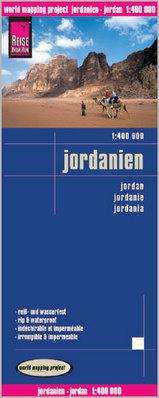 Landkaarten Jordanie
