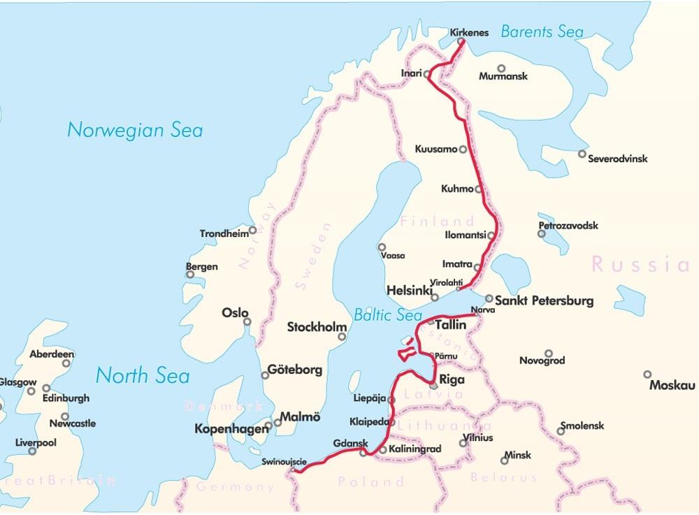 Fietsgids Bikeline Iron Curtain Trail deel 1 | Esterbauer ...