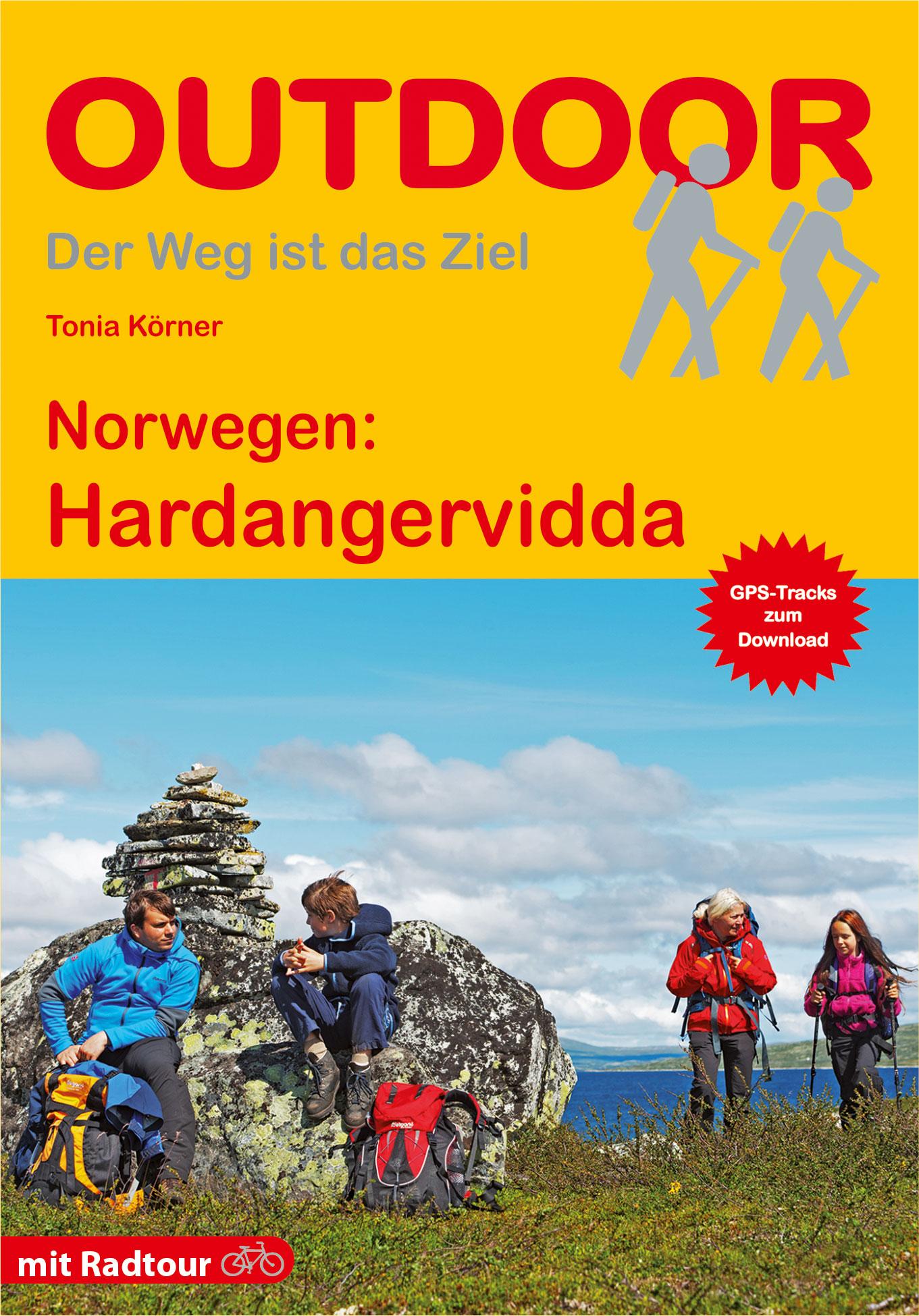 Wandelgids Hardangervidda - Noorwegen | Conrad Stein Verlag