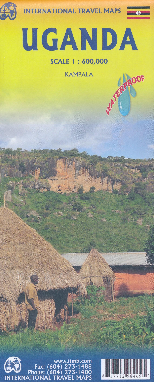 Landkaarten Oeganda
