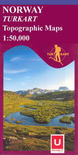 Wandelkaart 2411 Breheimen Topografische Kaart Turkart Noorwegen | Statens Ugland |