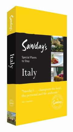 Online bestellen: Accommodatiegids Special Places To Stay Italy - Italie | Alastair Sawday's