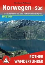 Wandelgids Noorwegen Zuid Norwegen Süd | Rother |