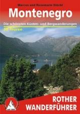Online bestellen: Wandelgids Montenegro   Rother