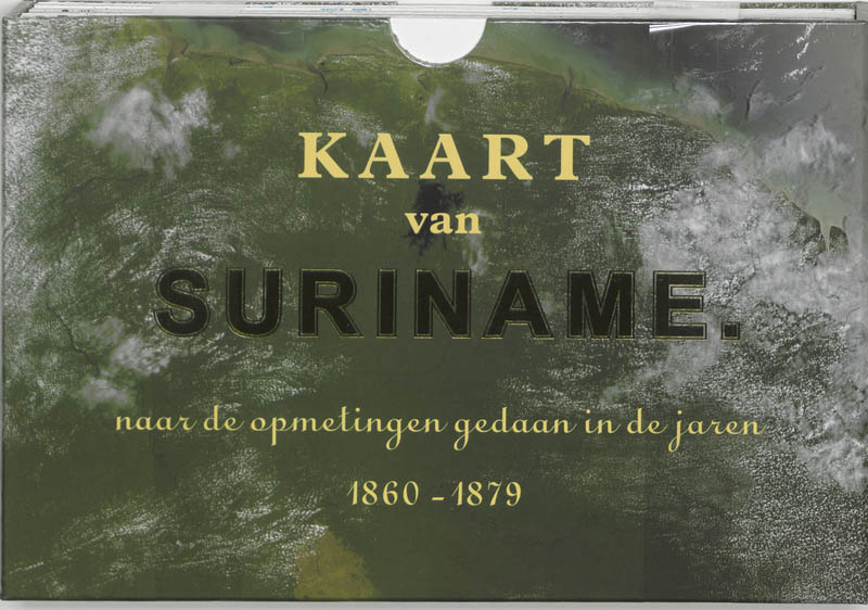 Online bestellen: Wegenkaart - landkaart Kaart van Suriname | Buijten & Schipperheijn