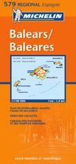 Wegenkaart - landkaart 579 Baleares - Balearen | Michelin