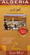 Online bestellen: Wegenkaart - landkaart Algeria - Algerije   Gizi Map